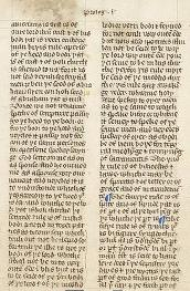 General Prologue of the Wycliffe Bible