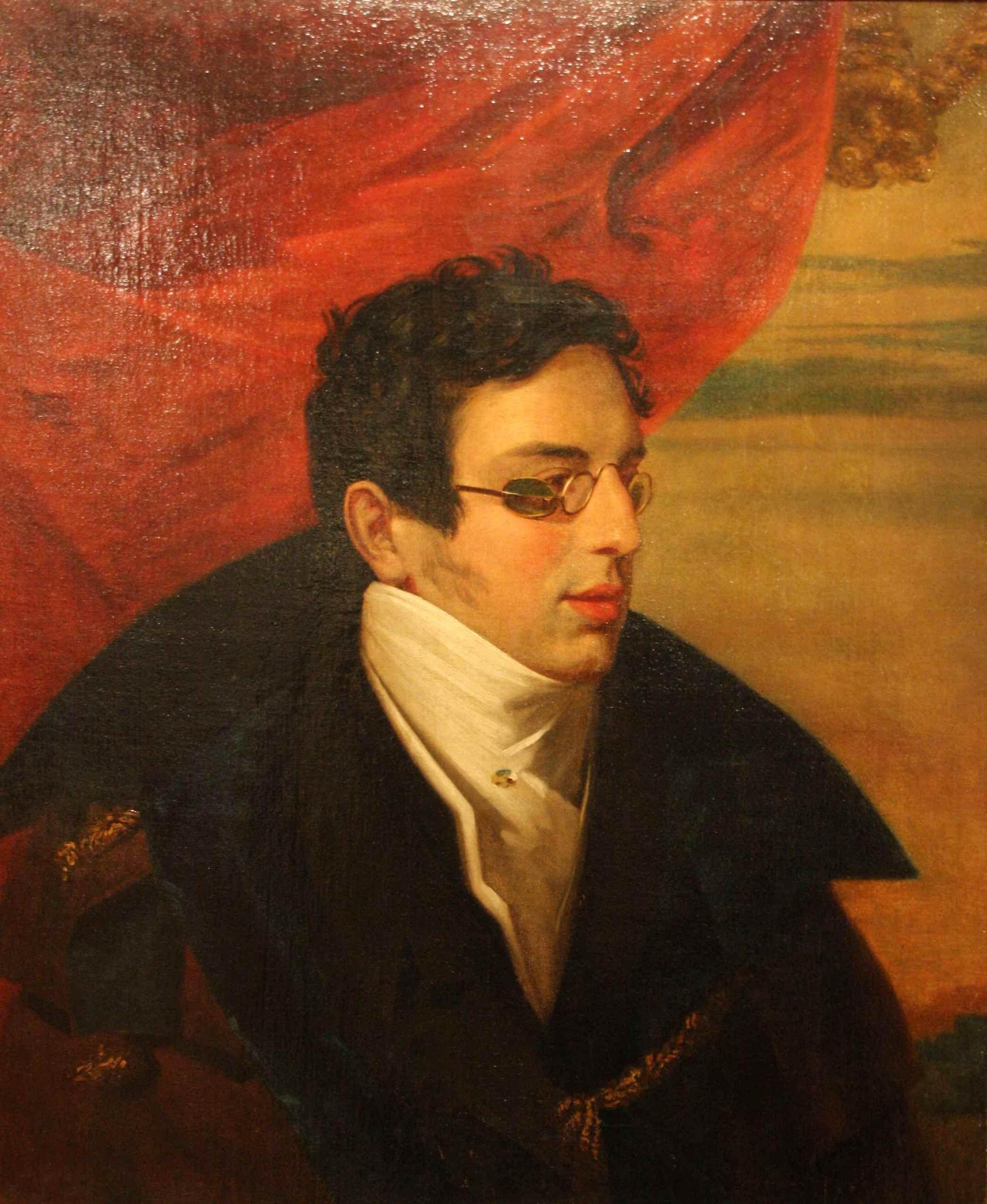 Николай Иванович Гнедич. Портрет работы Ореста Кипренского. 1826-1828 гг.