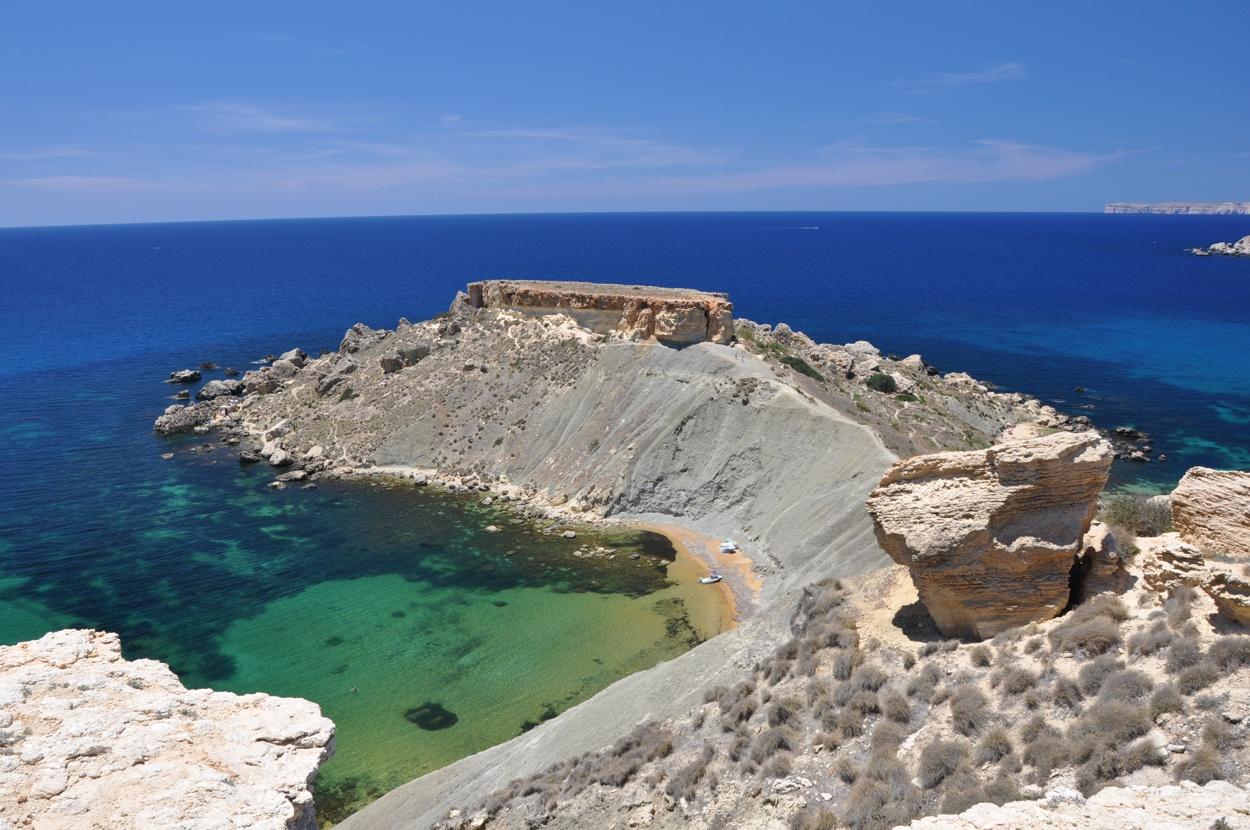 Gnejna Bay, Malta - UnCambiodeAires.com