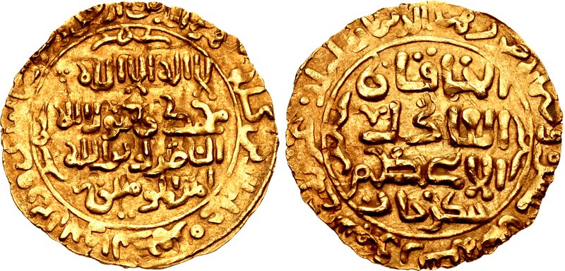 Gold coin of Genghis Khan