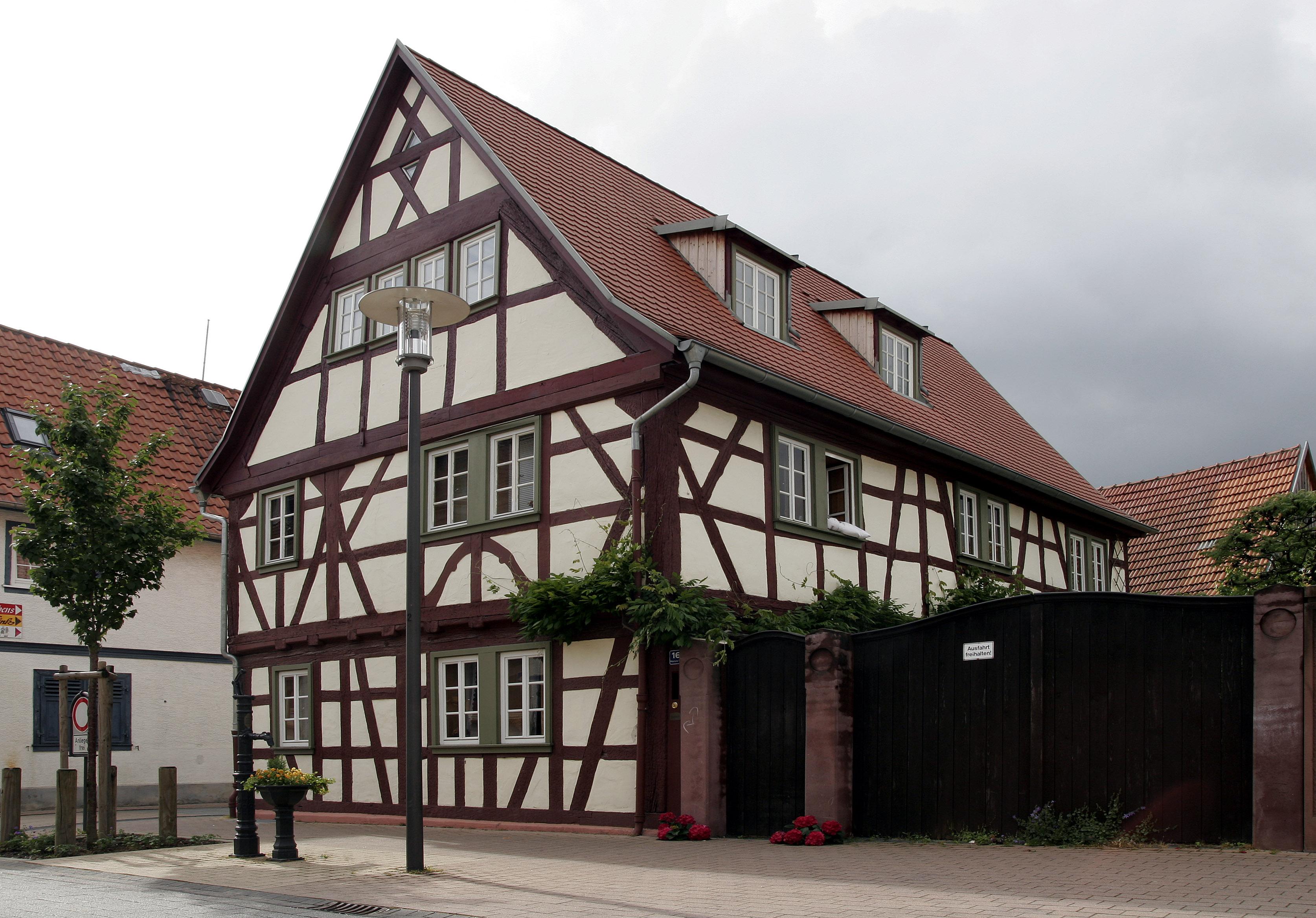 Gross-Gerau Germany  city pictures gallery : Gross Gerau Fachwerk 05 Wikimedia Commons