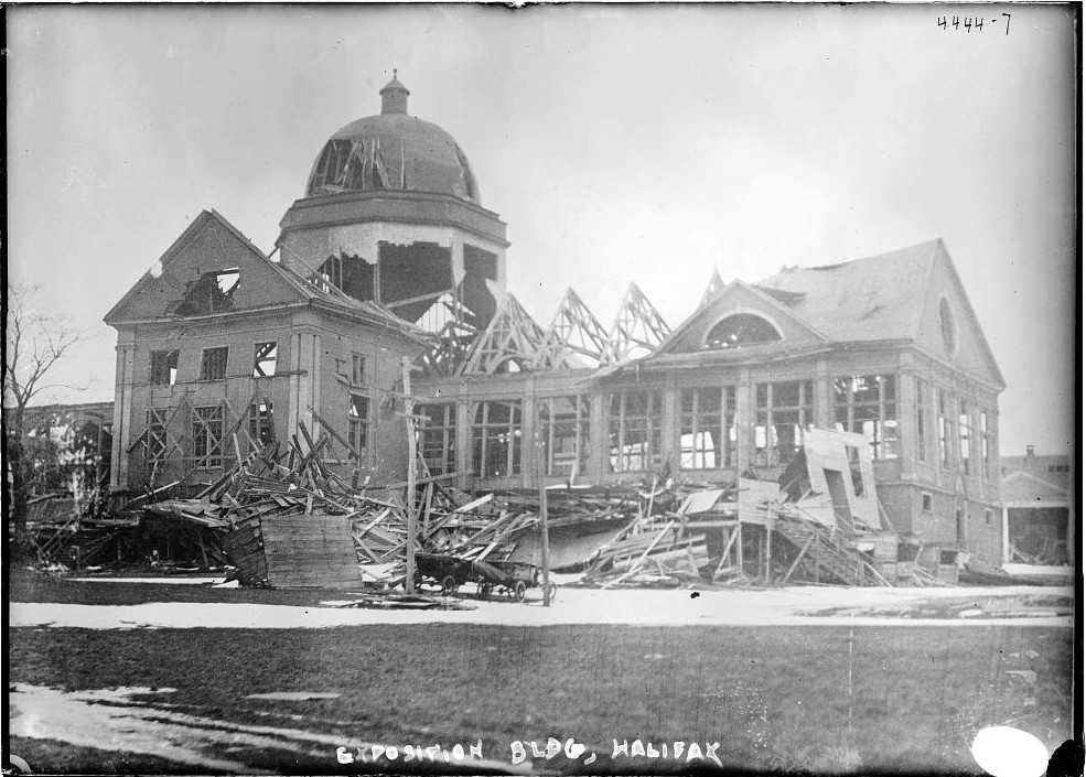 Halifax Explosion Ruins