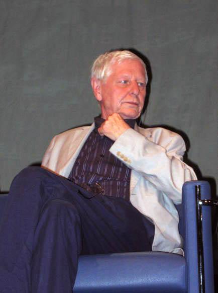 Hans Magnus Enzensberger in [[Warsaw]], 2006.