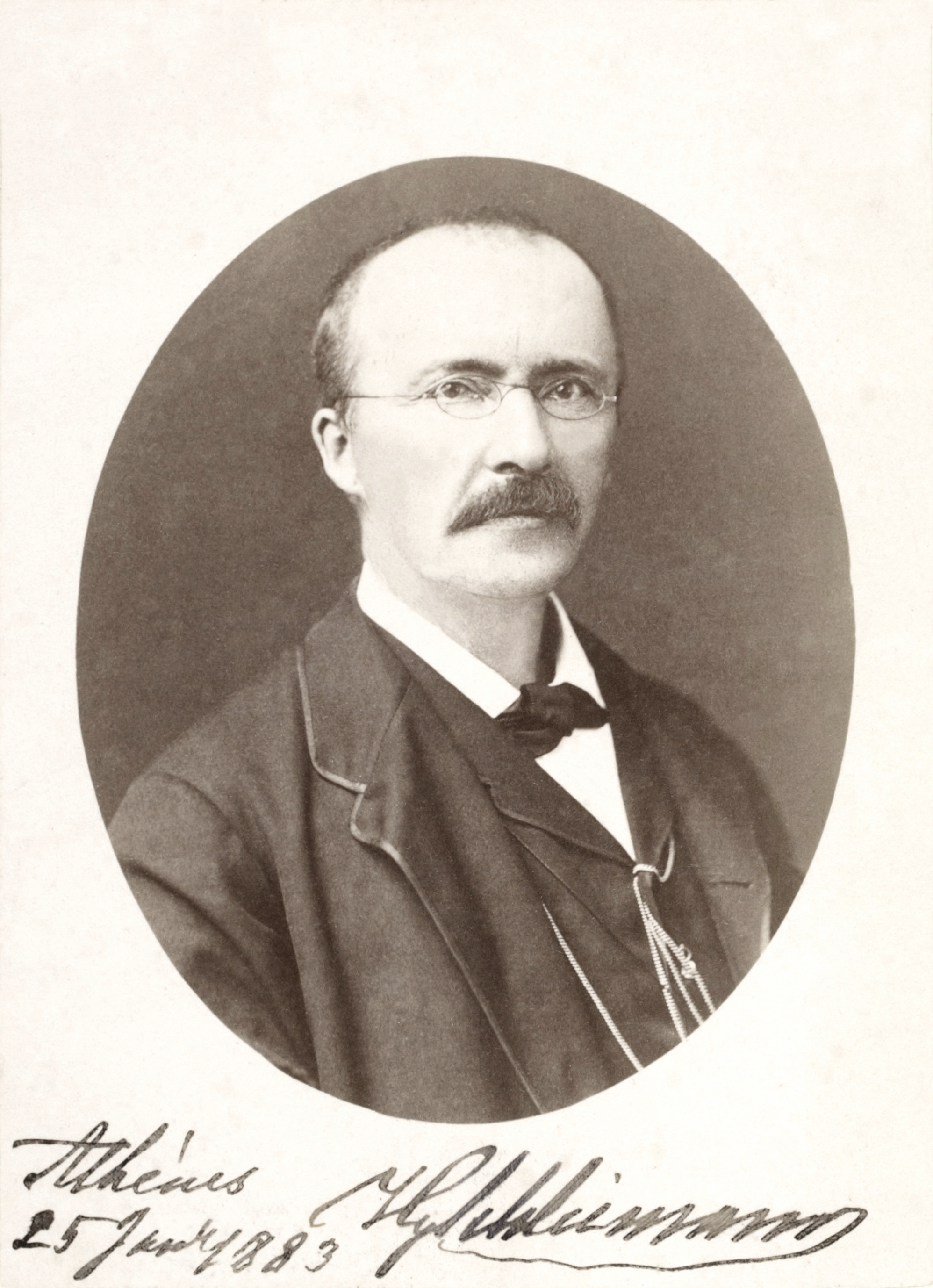 Heinrich Schliemann, the man who discovered Troy