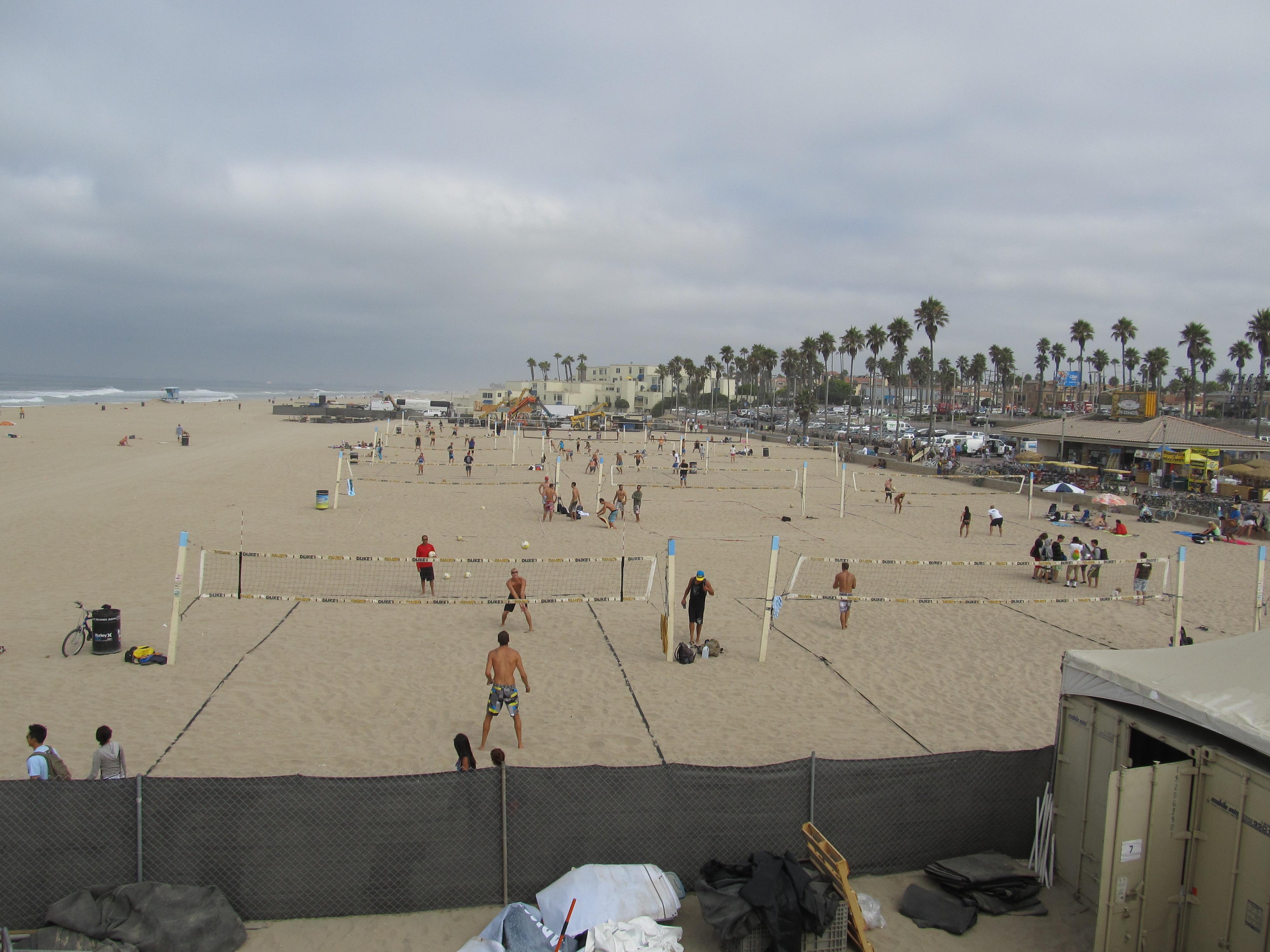 Beach Huntington California
