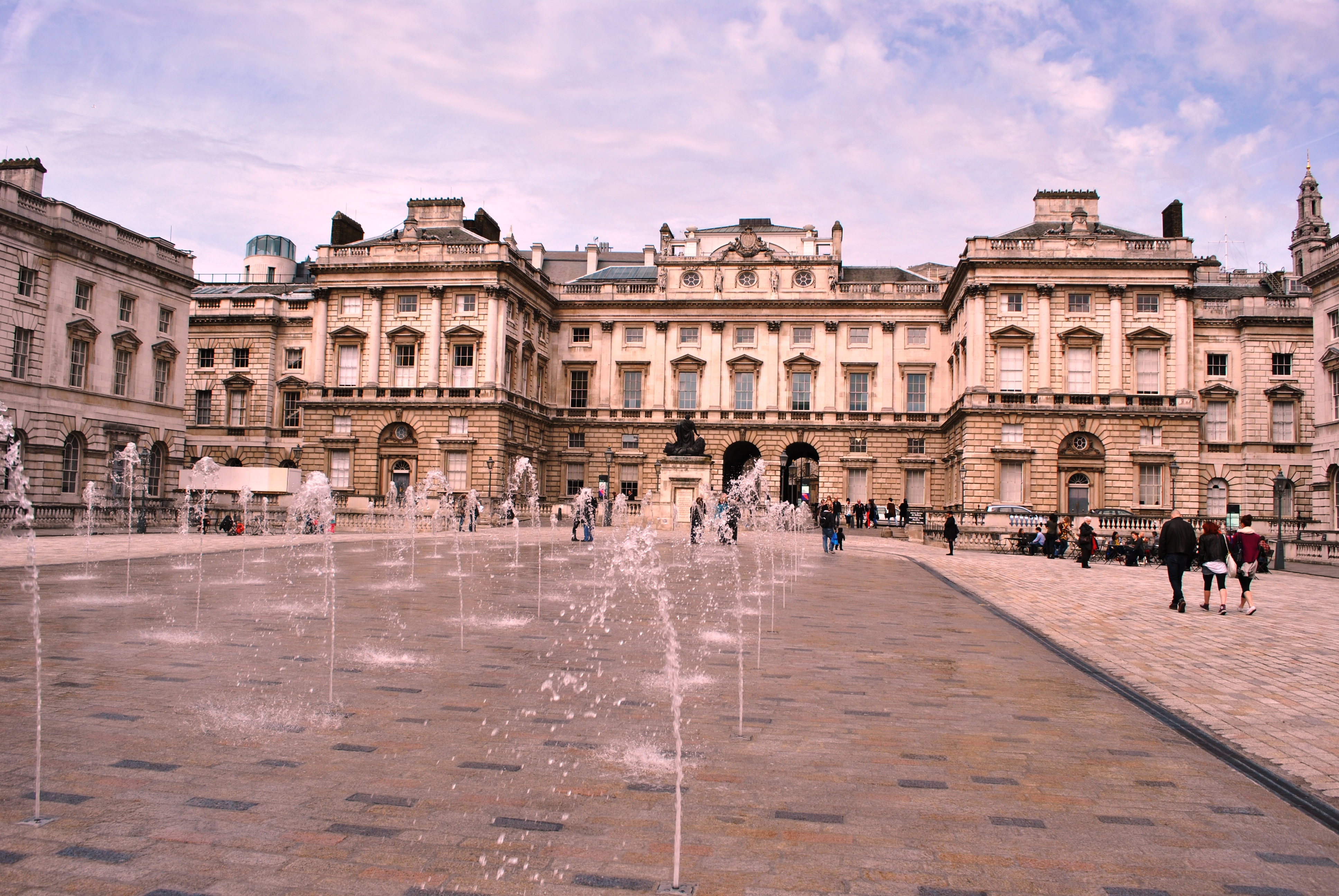 Somerset house wikipedia the dancing fountains were installed in the 1990s somerset house aiddatafo Choice Image