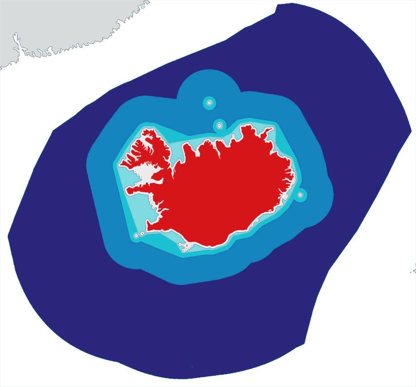 Les eaux Islandaises