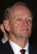 Jean Chrétien in 2003, the prime minister of Canada during the lead up to the Iraq War