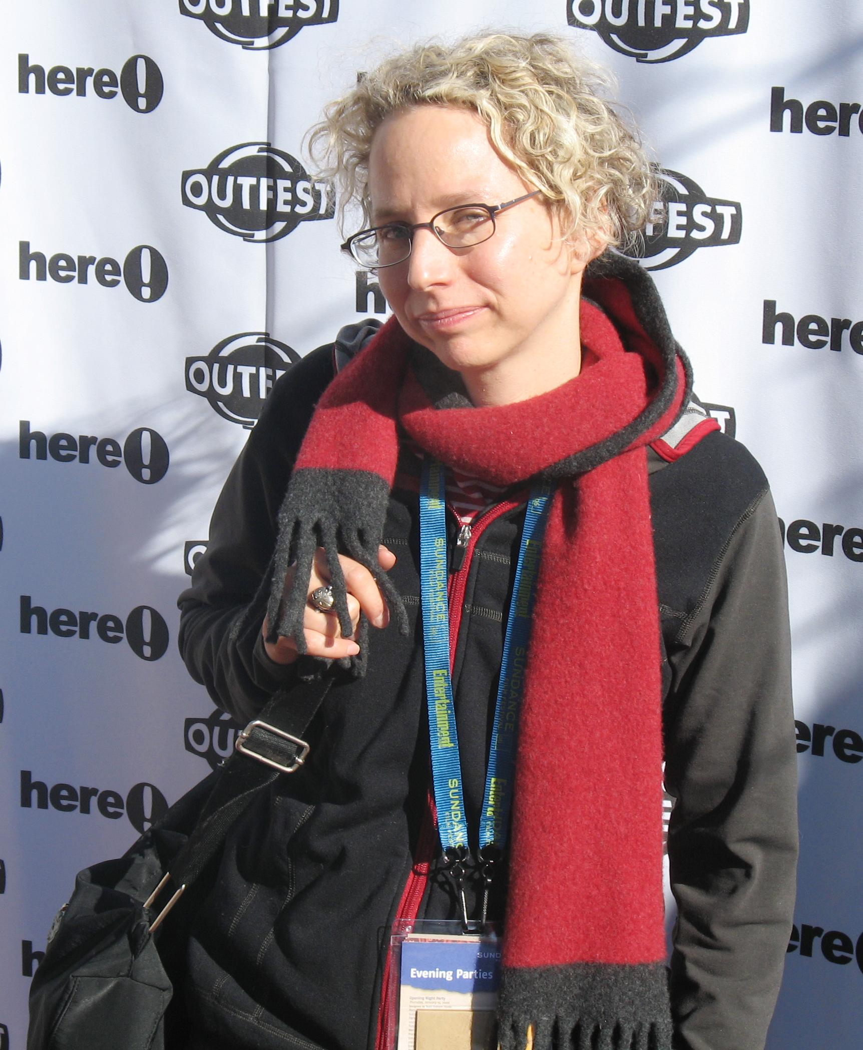 Livingston at the Here! Network/Outfest Queer Brunch during the [[Sundance Film Festival]] in 2006.