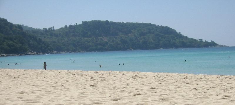 Вид на пляж Ката Ной