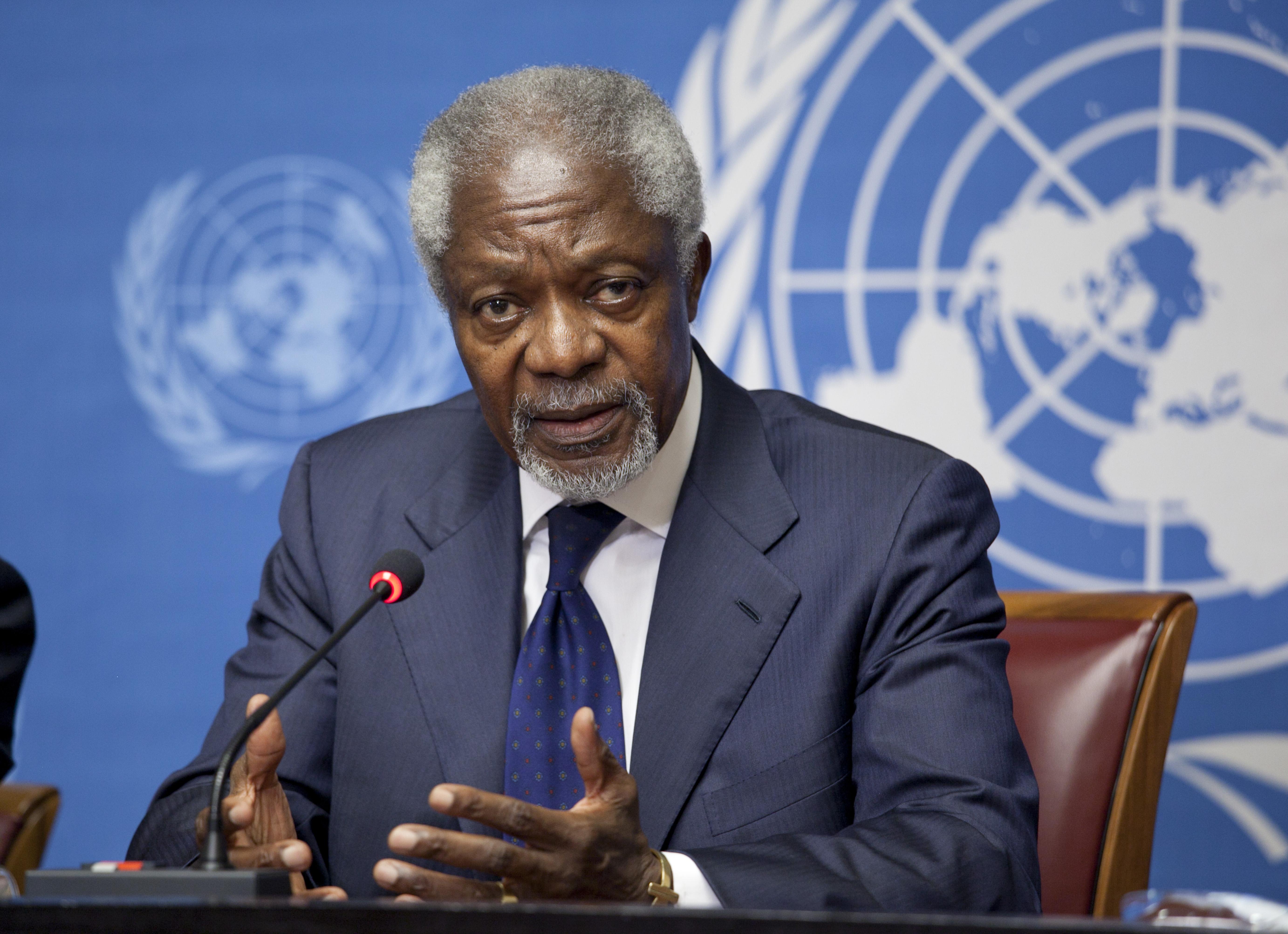 Kofi Annan Wikipedia La Enciclopedia Libre