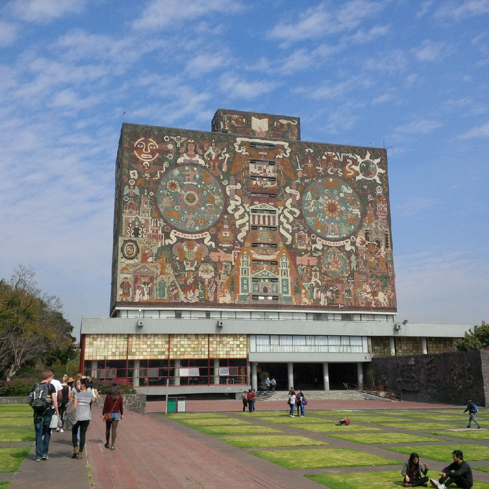 Central Library (UNAM) - Wikipedia
