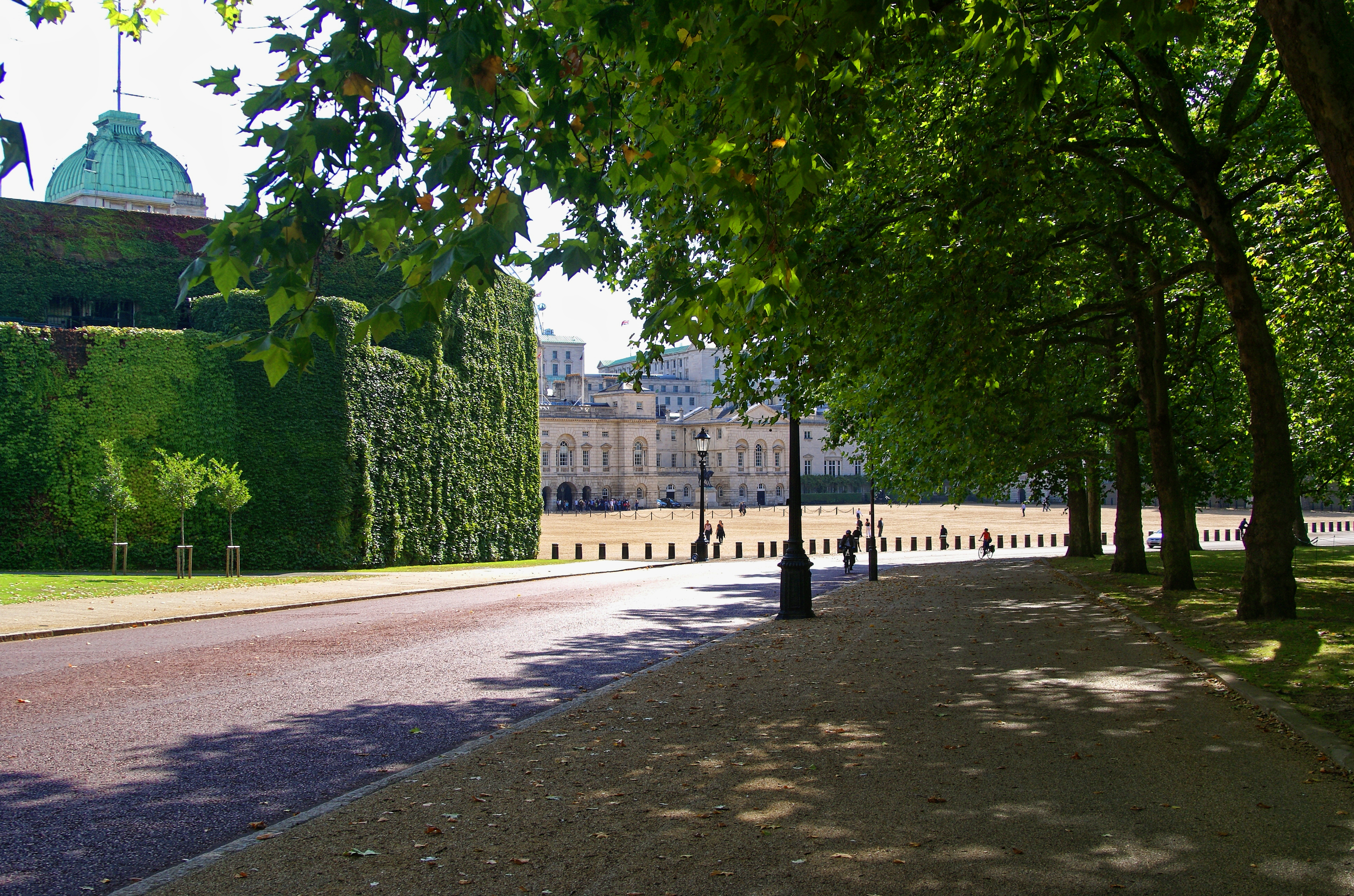 File:London - Horse Guards Road - View SE on Admiralty Citadel