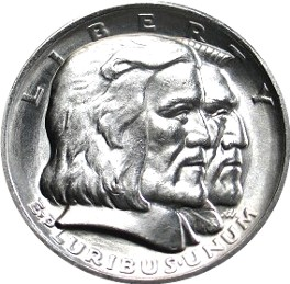 Commemorative half dollar in 1936