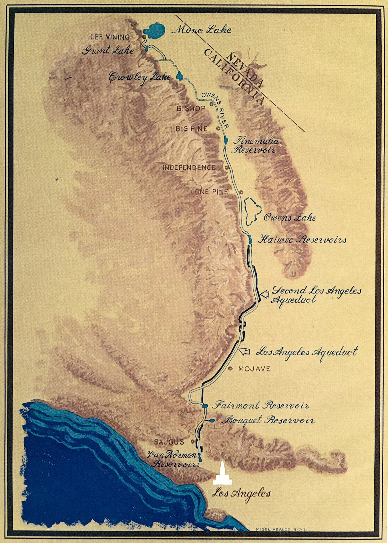FileLos Angeles Aqueduct Mappng Wikimedia Commons - City of los angeles jurisdiction map