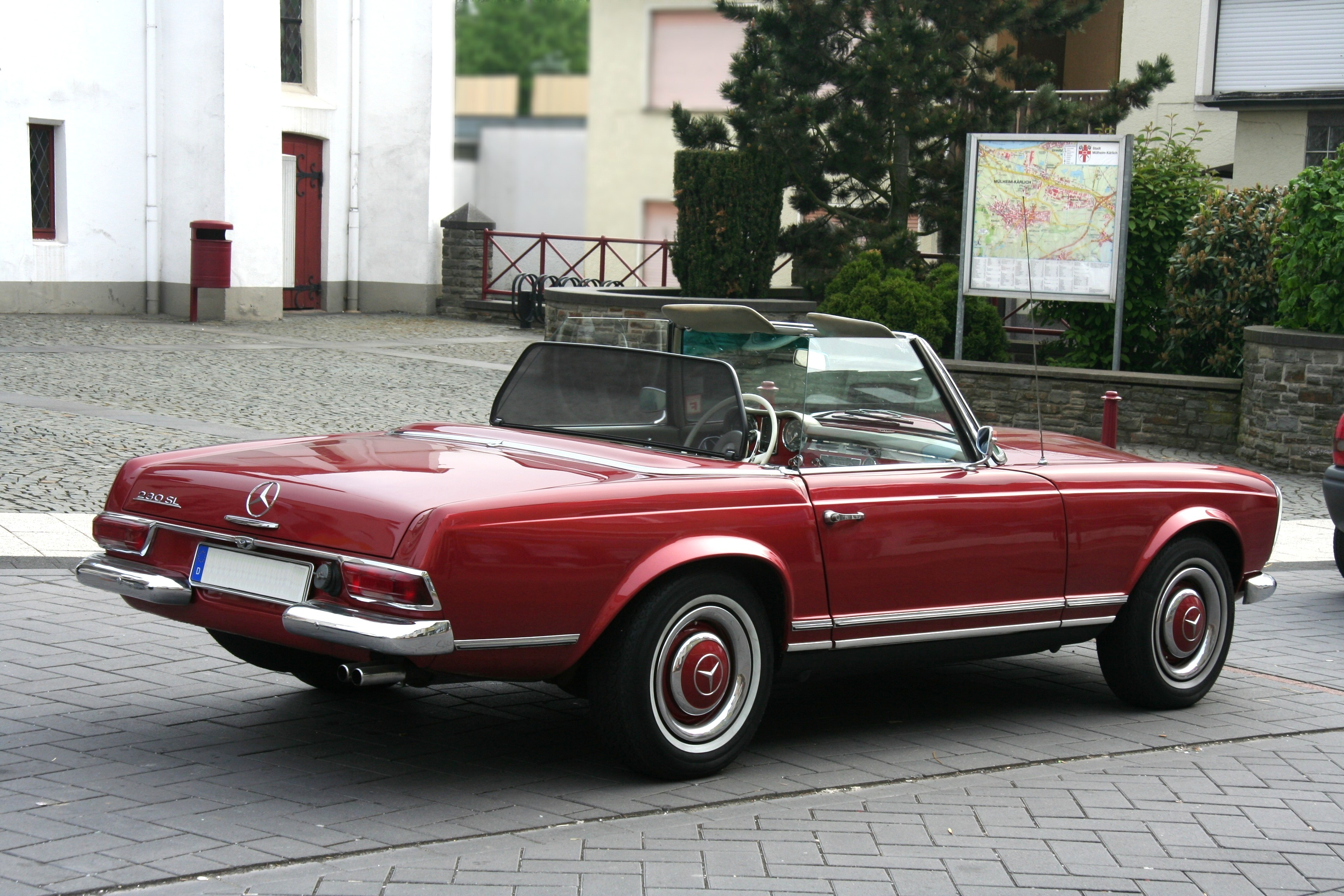 File Mb 230 Sl Bj 1964 Heck 2009 05 01 Jpg