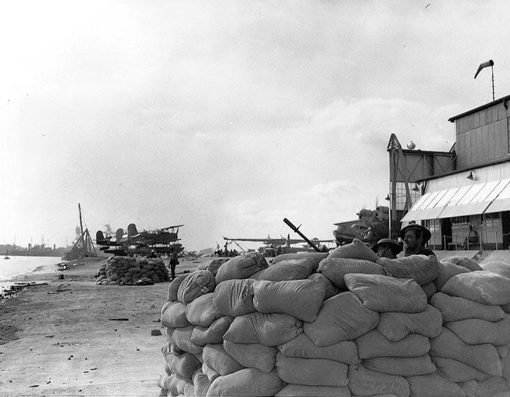 Machine Gun in Pearl Harbor Attack