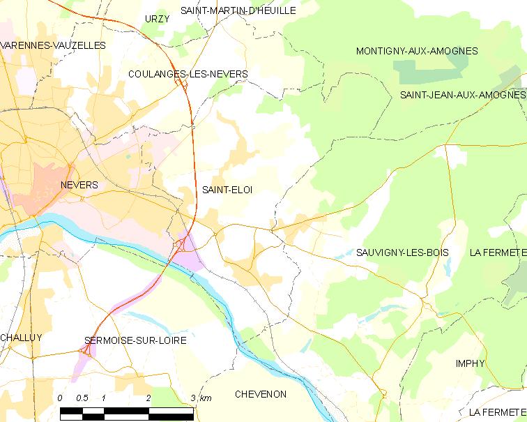 Loi locator map