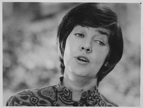 María Elena Walsh, en 1971