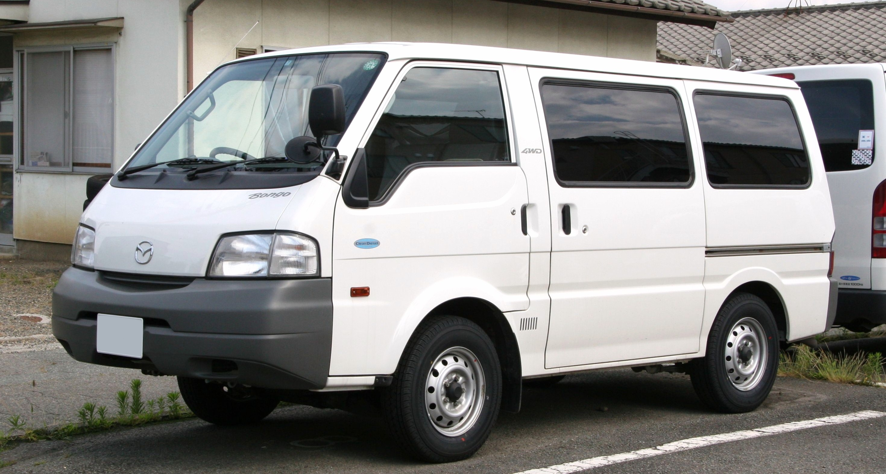 [SCHEMATICS_4JK]  Mazda Bongo - Wikipedia | Mazda Bongo Electrical Wiring Diagram |  | Wikipedia, the free encyclopedia