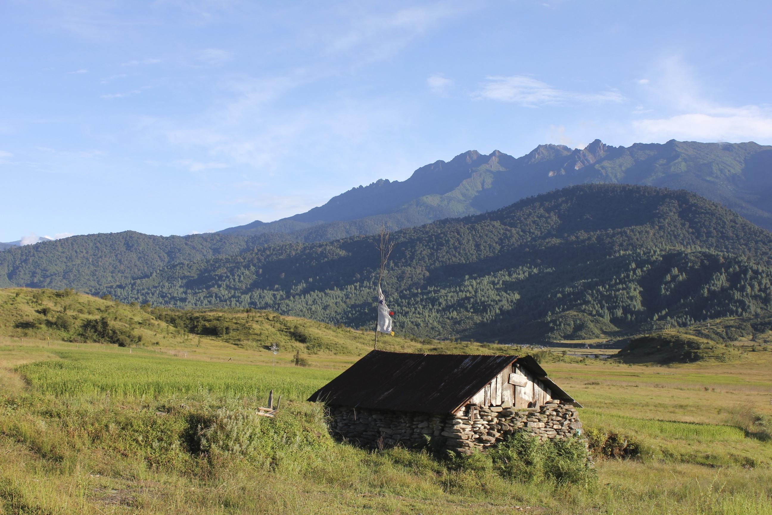 Mechuka Village