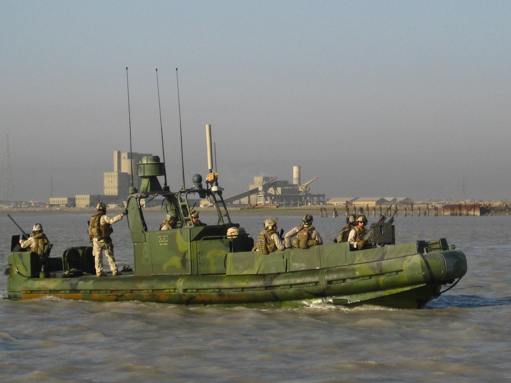 Military River Patrol Boats