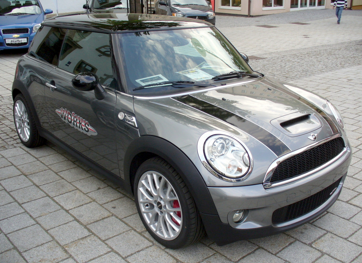 File Mini Cooper S Jcw Darksilver Jpg