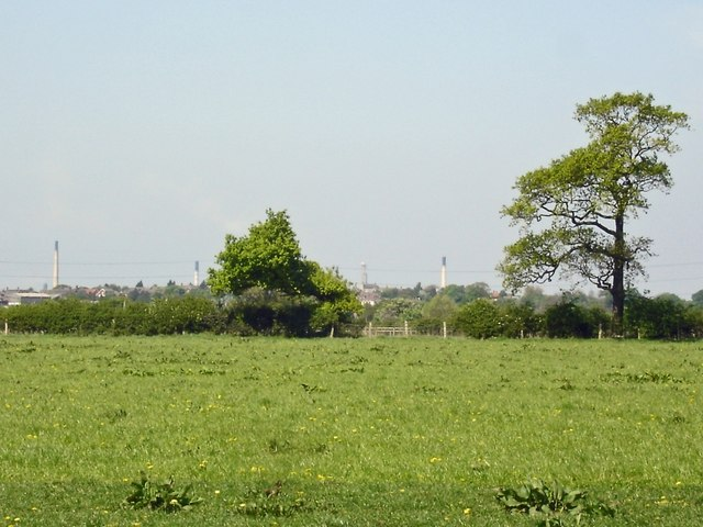 Mouldsworth, view across the Gowy plain - geograph.org.uk - 422480