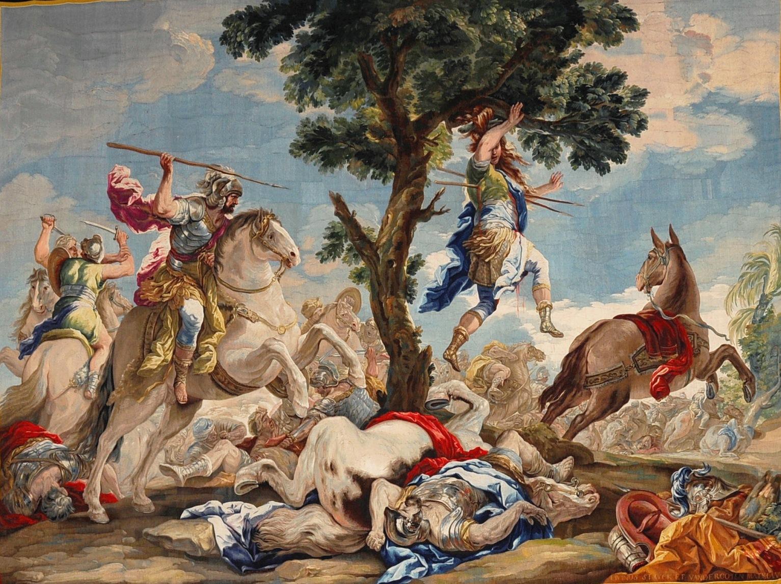 La muerte de Absalón