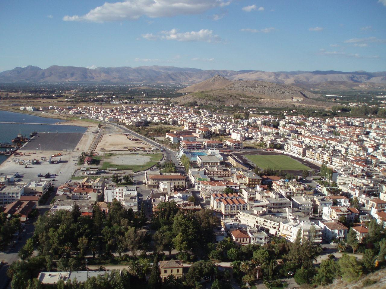File:Nafplio (Nauplia), Argolis (Argolida), Greece. View ...