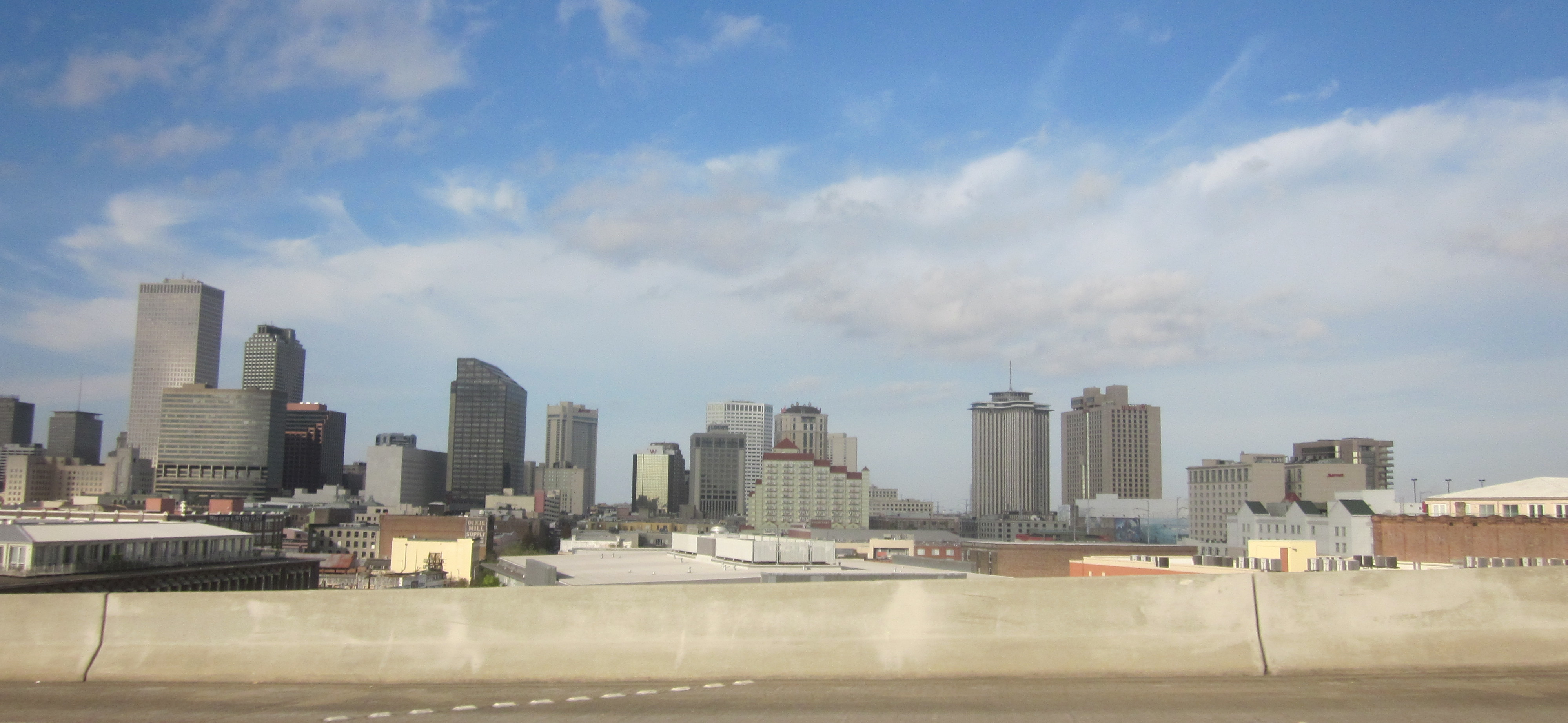 File New Orleans Skyline From Crescent City Connection Dec