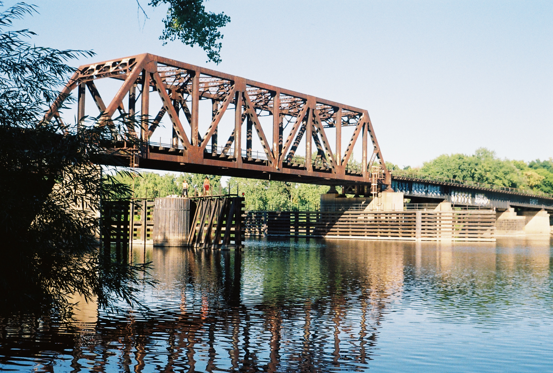 Northern Pacific-BNSF Minneapolis Rail Bridge - Wikipedia
