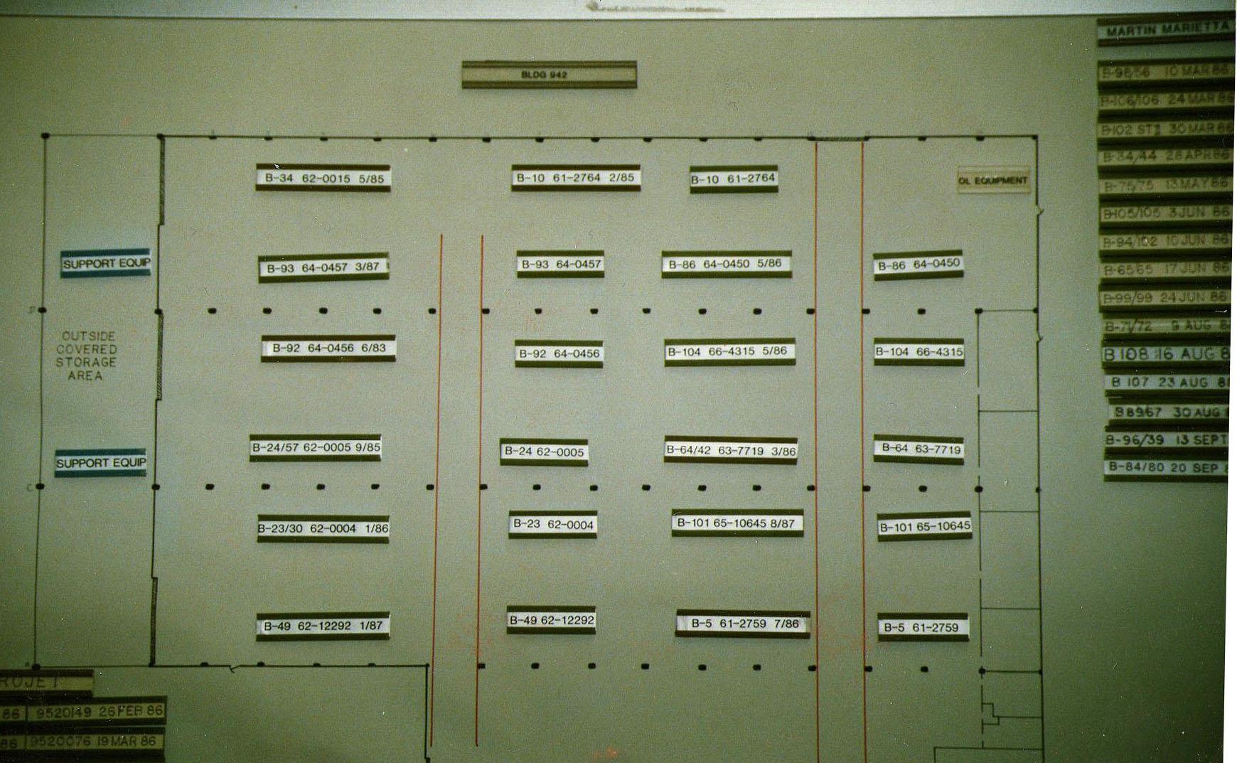 Norton AFB Bldg 942 June 1989
