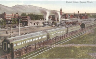 Westbound passengers changed cars at Ogden, from Union Pacific to Southern Pacific, which took them to California