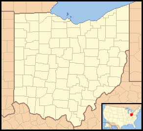 Cleveland is located in Ohio