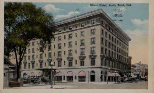 File Oliver Hotel At South Bend Indiana 1917 Jpg