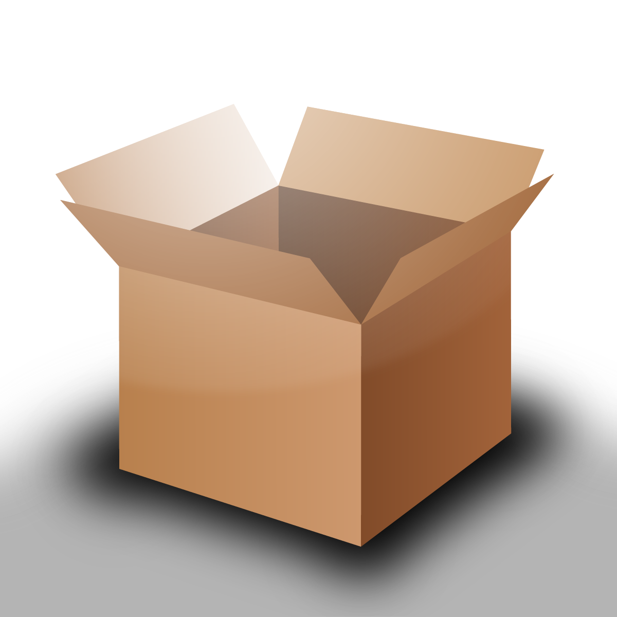 cardboard box png. fileopen cardboard box huskypng png