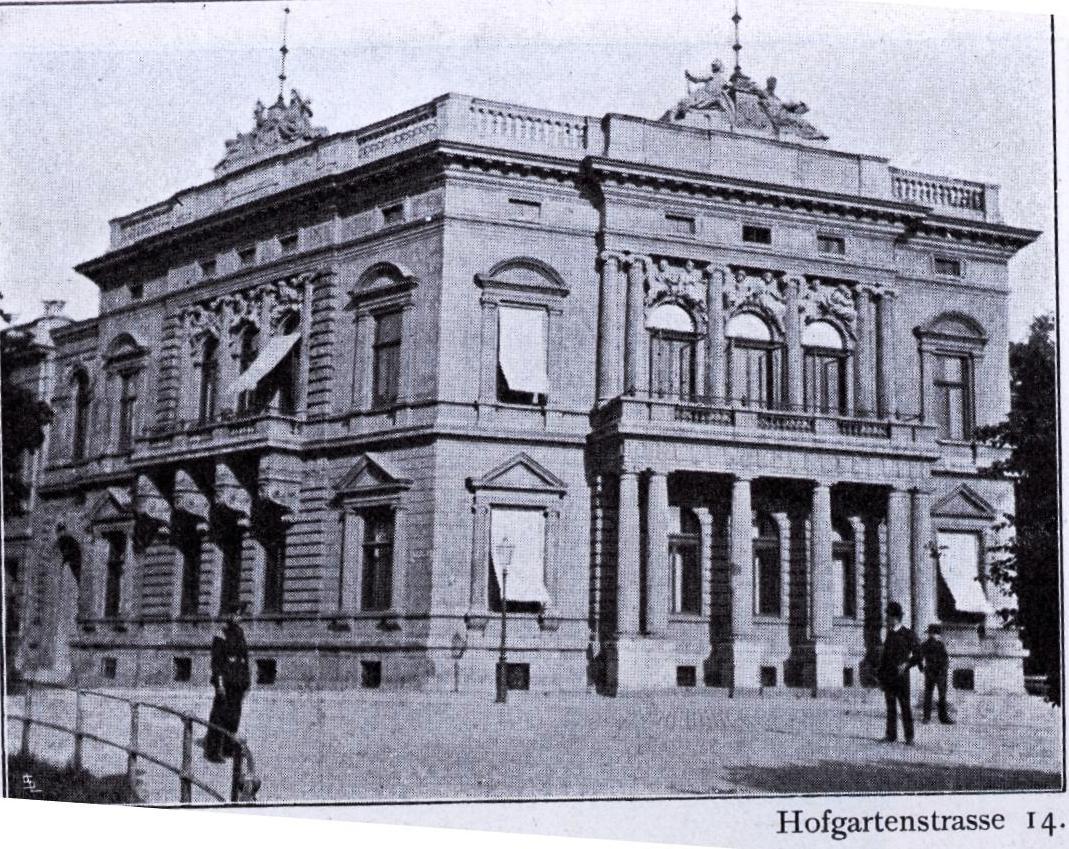 datei palais hofgartenstra e 14 in d sseldorf architekten boldt frings in den 1880er jahren. Black Bedroom Furniture Sets. Home Design Ideas