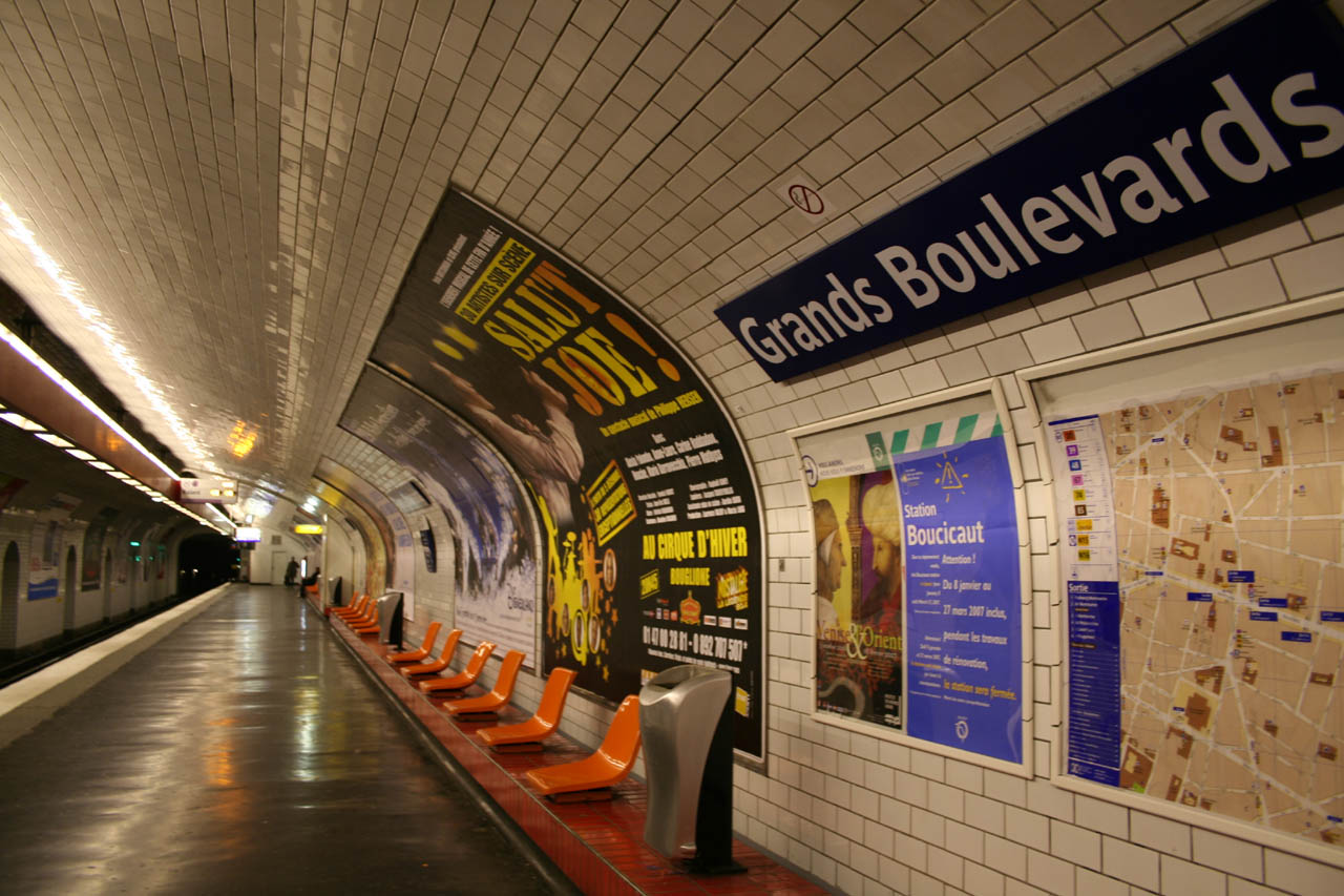 .:: Metrô Internacional ::. Paris_Subway_Grands_Boulevards