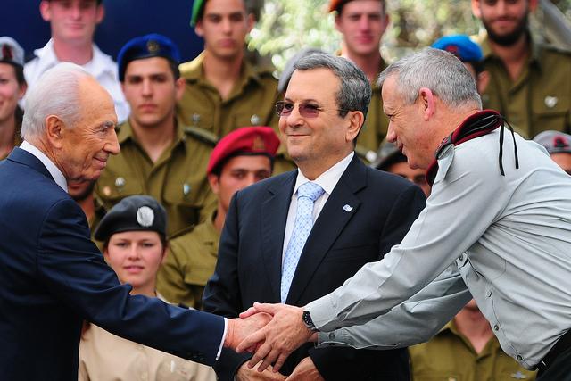 טקס חיילים מצטיינים 2012