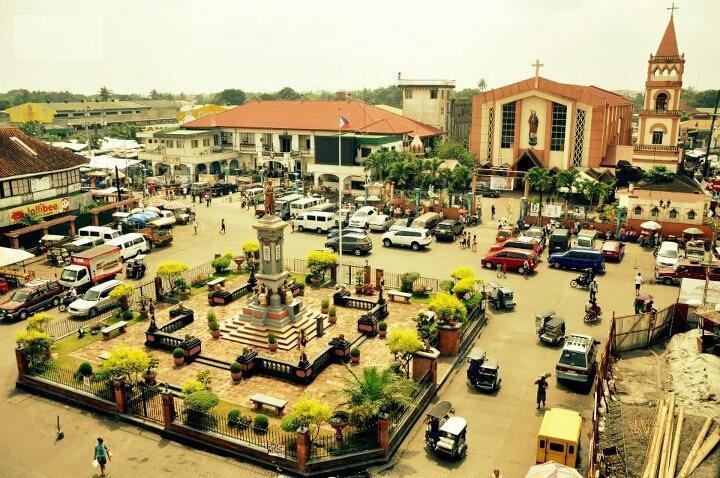 plaza rizal, biñan city