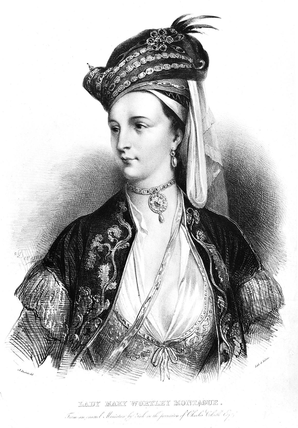 Резултат с изображение за Mary Wortley Montagu