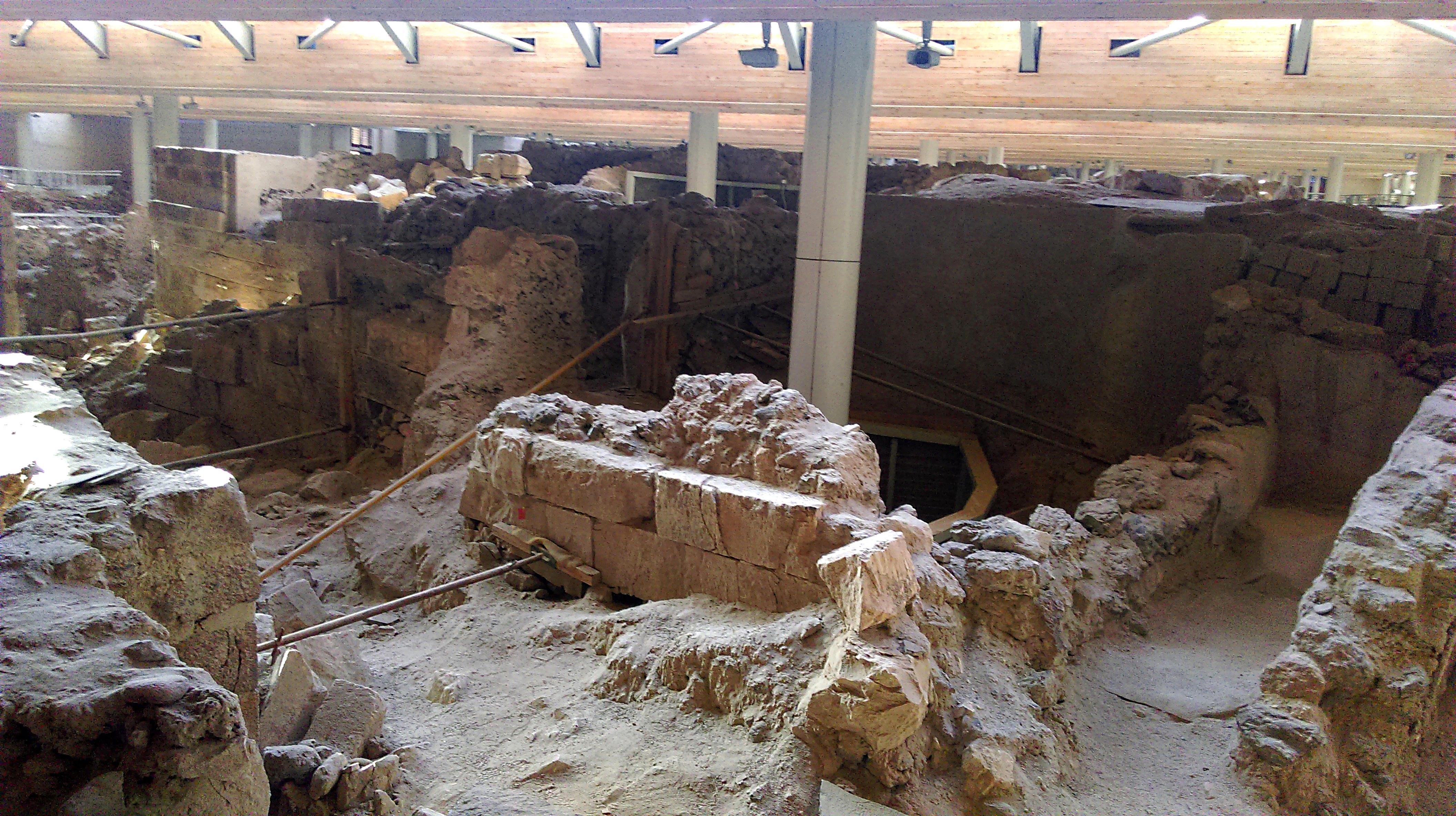 Картинки по запросу Акротири Археологические раскопки