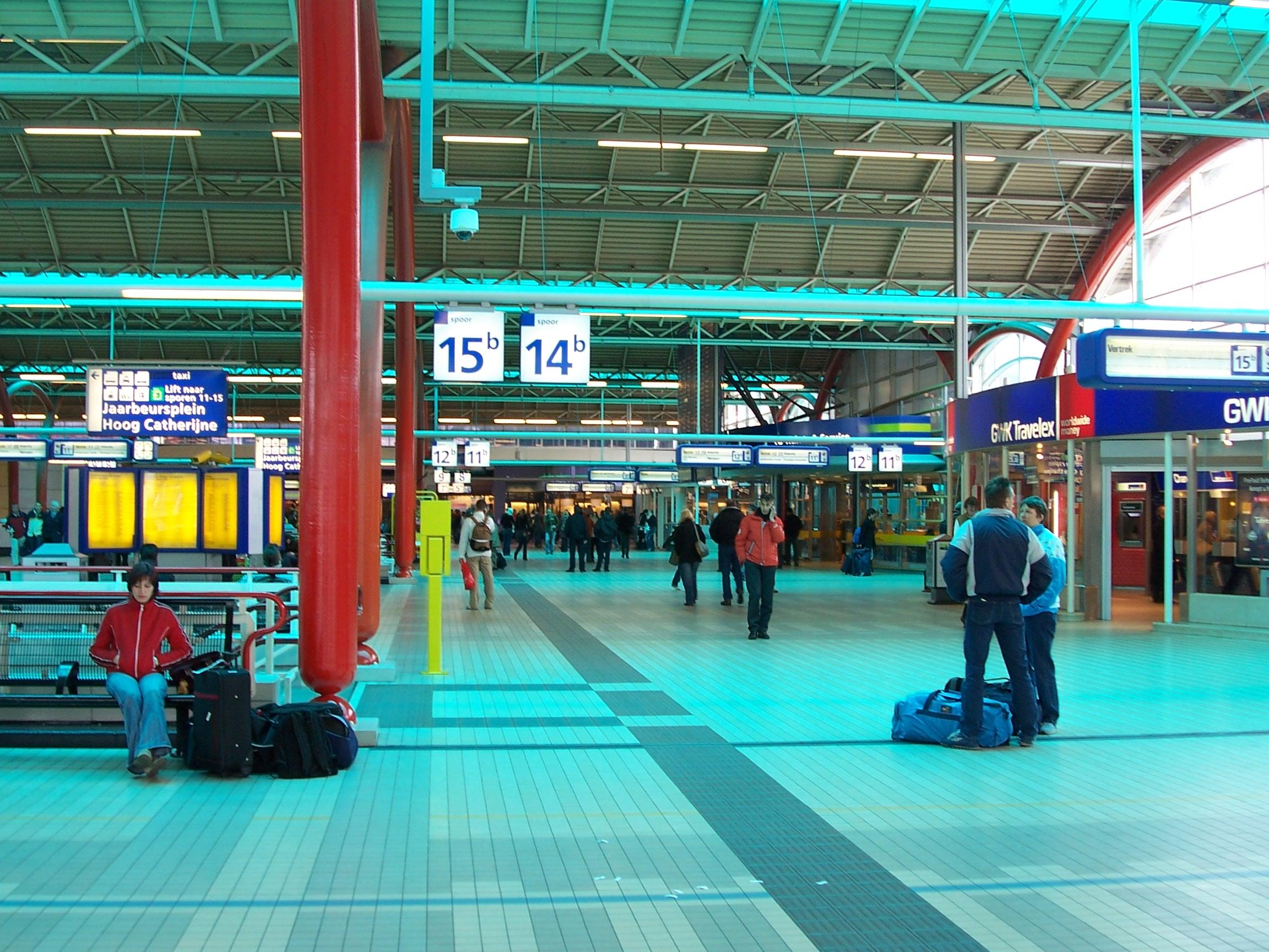 Utrecht Centraal railway station #