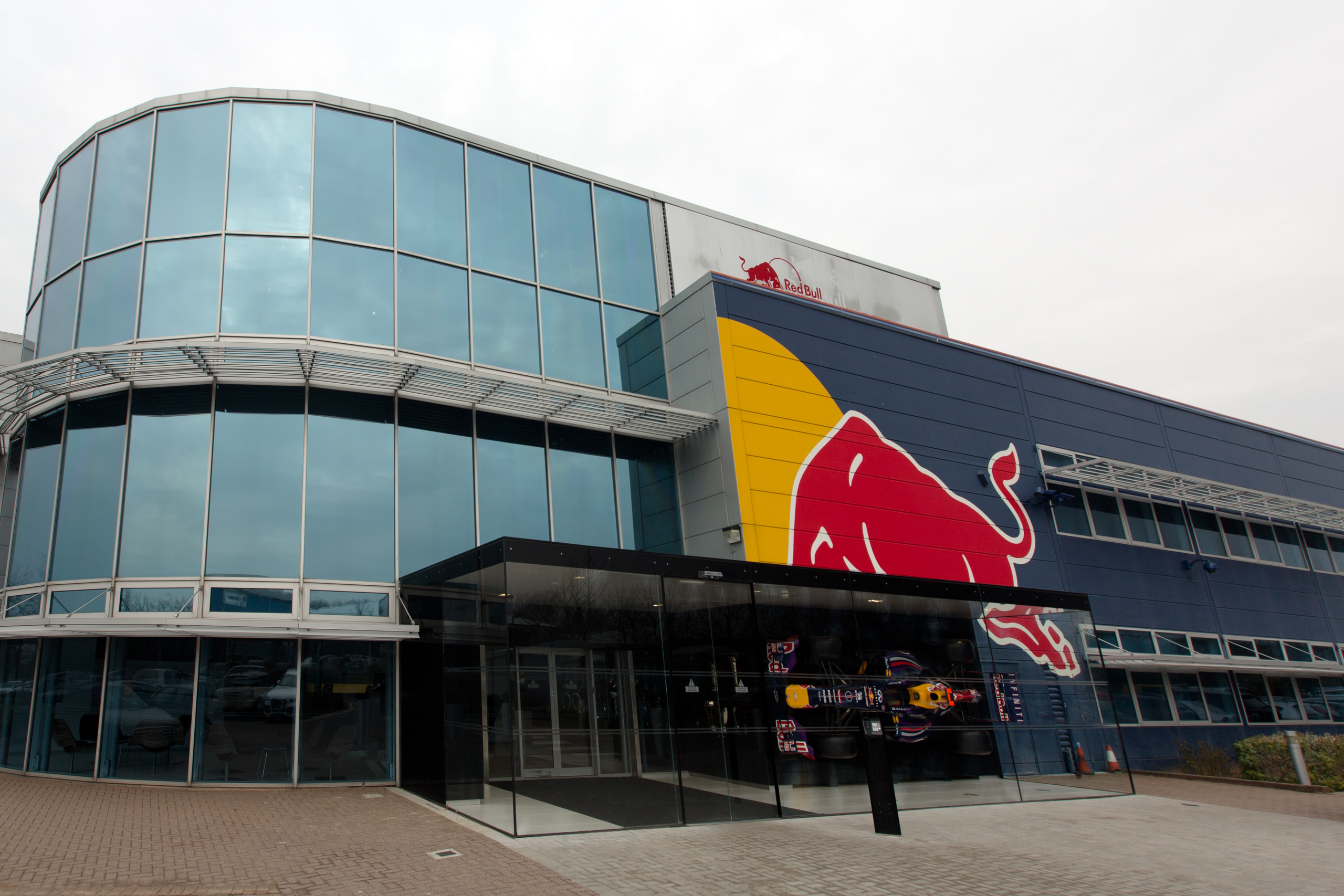 Lego Headquarters File Red Bull Racing Factory Entrance Jpg