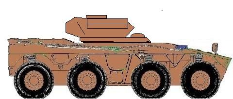 Rooikat antitank