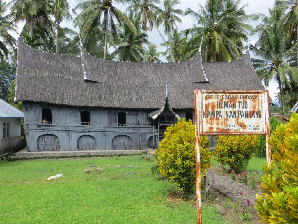 Rumah Gadang Kampai Nan Panjang Tanah Datar