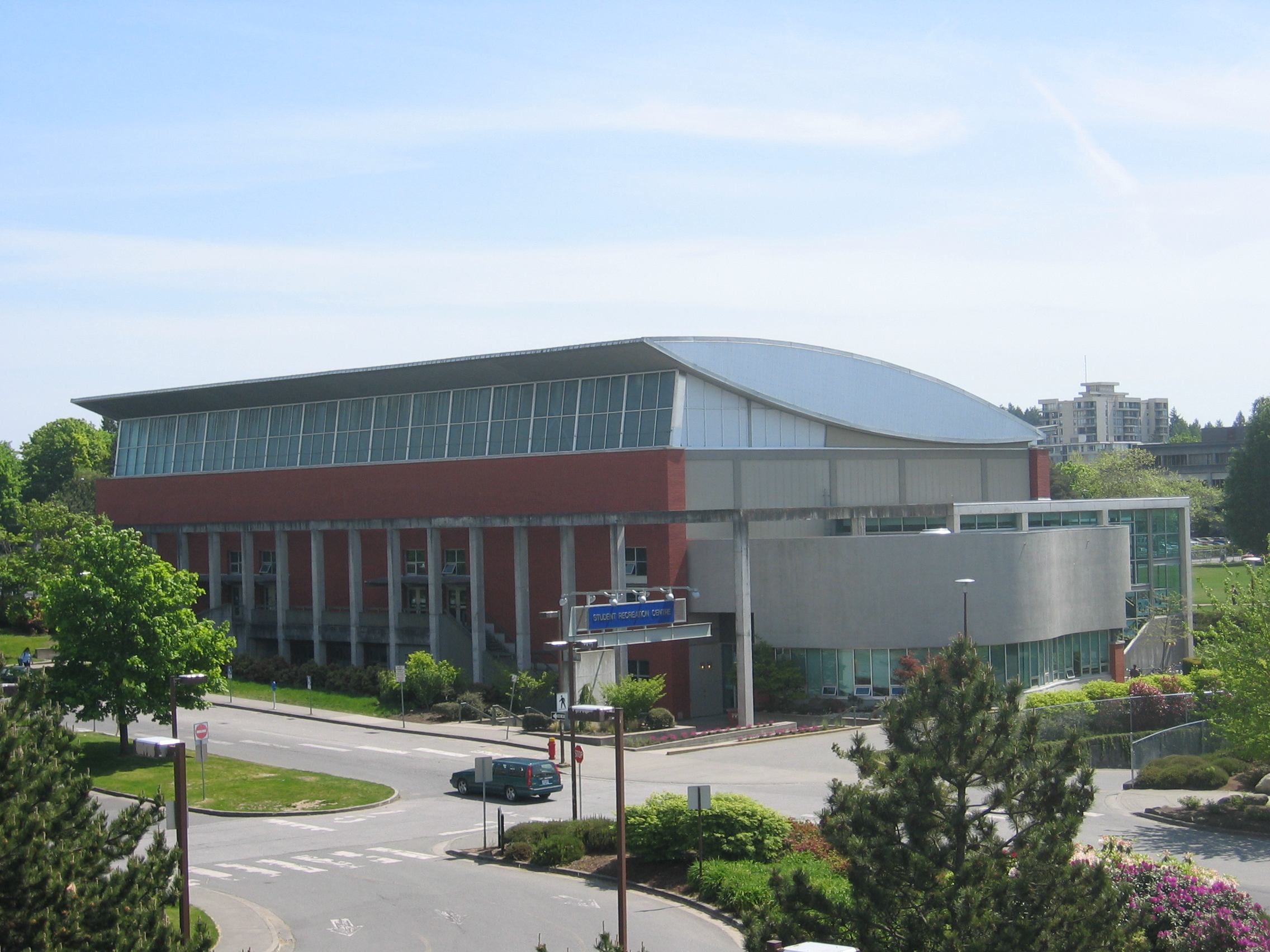 The Student Recreation Centre at the University of British Columbia