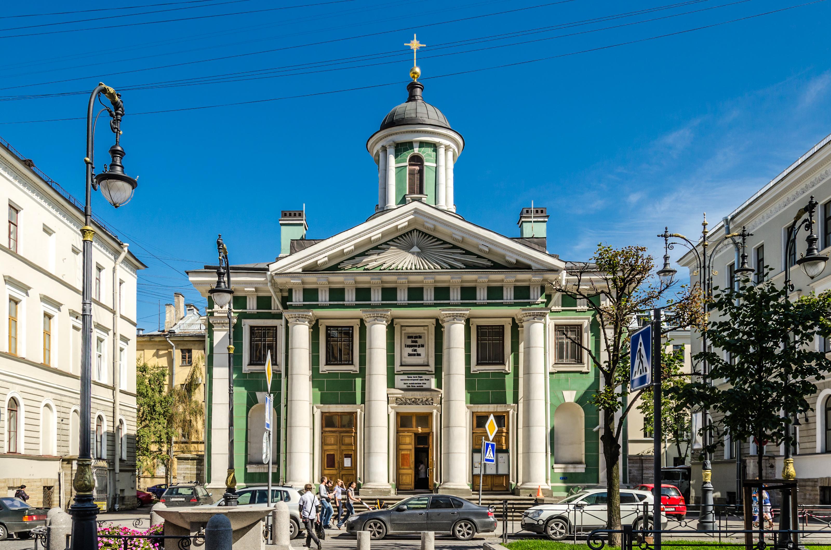 Финская церковь Святой Марии (Санкт-Петербург) — Википедия