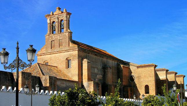 Exterior Monasterio de Santa Clara de Moguer